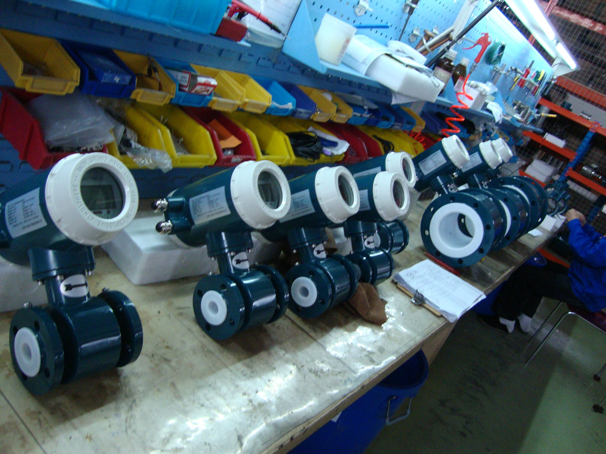 China flow meter factory