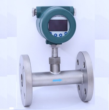 thermal mass flow meter for biogas