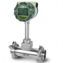 Tri-clamp flow meter gaya Vortex