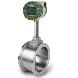 Wafer jenis Vortex flow meter