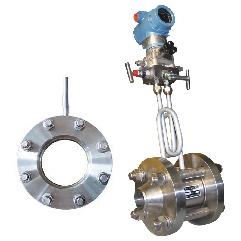 Differential flow meter to measure Gas flow rate