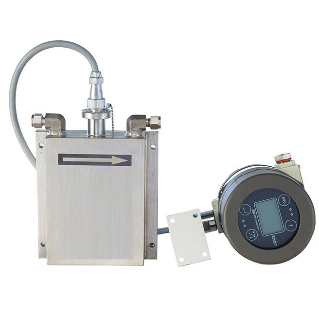 Coriolis flow meter with remote display
